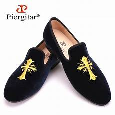 exquisite embroidery patterns velvet shoes wedding