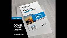 Create A Cover Page How To Make A Cover Page Design For Report And Book In