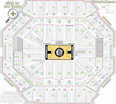 Nets Seating Chart Barclays Center Brooklyn Nets Amp Concerts Seat Numbers
