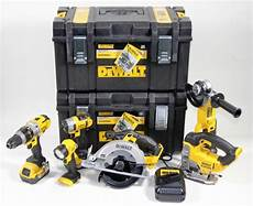Akku Werkzeugset Dewalt dewalt dck692m3 6tlg akku werkzeugset inkl toughbox 3x 4