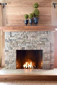 airstone fireplace makeover make lovely