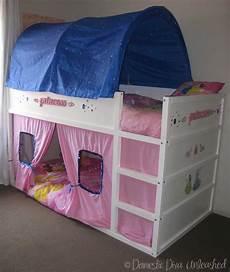 princess ikea kura bed makeover domestic unleashed