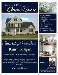 Real Estate Open House Flyers 1 830 Customizable Design Templates For Open House
