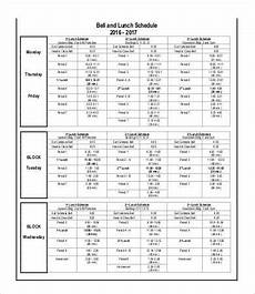 Lunch Schedule Template Lunch Schedule Template 14 Free Word Pdf Documents