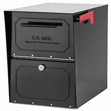 Business Mailbox Architectural Mailboxes Oasis Classic Locking Post Mount