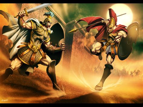 Achilles Vs Hector