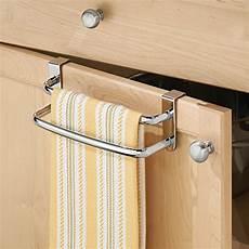 interdesign axis the cabinet kitchen dish towel bar