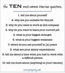 Typical Interview Questions How To Answer The Most Common Interview Questions The