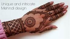 Hennagir Designs New Beautiful Henna Mehndi Design For Top Of Hands Youtube