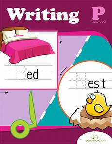 preschool writing workbook education