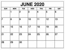 Publisher Calendar Templates 2020 June Printable Calendar 2020 Free Templates 2020 Free