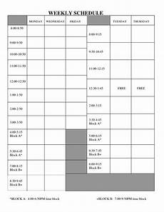 Printable Work Schedules 10 Best Images Of Free Printable Blank Employee Schedules
