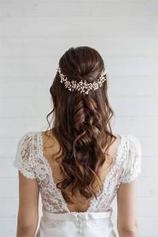 aster statement wedding hair vine millesime