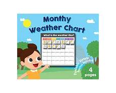 Weather Chart Preschool Worksheets Amp Teaching Resources Tpt