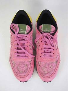 Valentino Sneakers Size Chart Sneakers Valentino Rockstud Lace Pink Size 40 Vintage