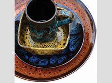 Flea Market Stoneware dinnerware, handmade in Colombia