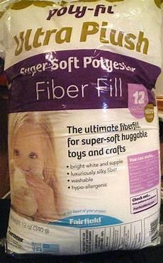 poly fil 174 ultra plush soft polyester fiber fill 12