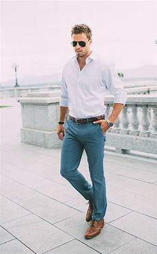 Light Grey Pants Brown Shoes Picture Of Grey Pants A Light Blue Shirt And Brown