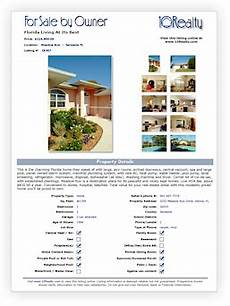 Home Listings For Sale By Owner Free Fsbo Flyer Template Free Real Estate Flyer Template