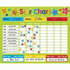 Sticker Chart For Toddler Behavior Toddler Behavior Charts Amazon Com