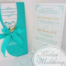 undangan pernikahan unik dengan gambar kartun jogja