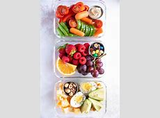 Healthy On the Go Meal Prep Snack Ideas   The Forked Spoon