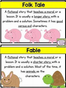 Fable Anchor Chart 2nd Grade Recount A Story Rl2 2 With Images Kindergarten Anchor