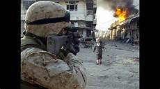 Marine Corps Firefights Us Marines Firefight In Fallujah Awesome Combat Camera