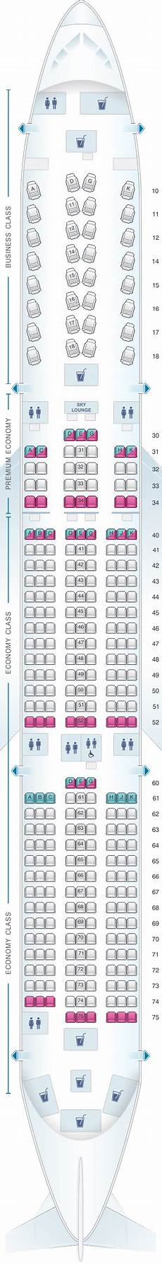 Airbus A350 900 Seating Chart Seat Map China Airlines Airbus A350 900 Seatmaestro