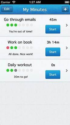 Personal Task Tracker My Minutes Simple Personal Time Amp Task Tracker App