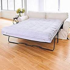 sleeper sofa mattress topper 75 quot l x 54 quot w
