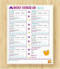 Weekly Exercise Log The Top 5 Absolute Best Fitness And Weight Loss Planners