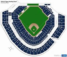 Detroit Tigers Seating Chart With Rows 8 Pics Detroit Tigers Seating Chart With Rows And Review
