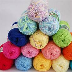 new 50g soft bamboo crochet cotton knitted yarn for