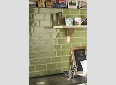 Rustic olive green wall tiles, perfect for kitchen splash back. Similar to metro tiles.   Olive