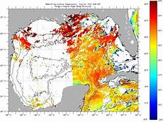 Sst Charts Rutgers Gulf Of Mexico Sea Surface Temperatures Tuesday July 11