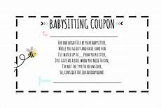 babysitting coupon templates 11 baby sitting coupon templates psd ai indesign