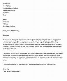 Examples Of Thank You Letters After An Interview 28 Best Phone Interview Thank You Letter Amp Email Samples