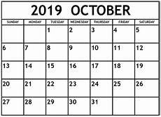 October Calendar October 2019 Calendar Canada National Holidays Net