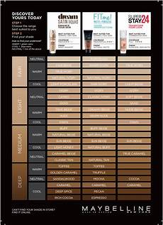 Maybelline Better Skin Foundation Colour Chart Foundation Liquid Amp Powder Foundation Maybelline