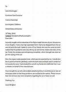 Formal Complaint Letters Free 17 Sample Complaint Letter Templates In Google Docs