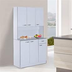 homcom wooden kitchen multi storage cabinet display