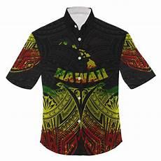 hawaiian clothes sealed hawaii polynesian reggae pride map and seal clothing for