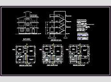 Bungalows 2D DXF Design Section for AutoCAD ? DesignsCAD
