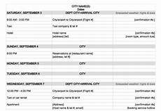 Itinerary Planner Template Free Travel Itinerary Maker Planner Template Free