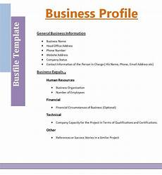 Business Word Template 2 Best Business Profile Templates Free Word Templates