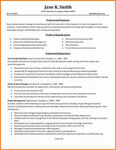 Project Management Experience Examples 6 Project Management Experience Introduction Letter