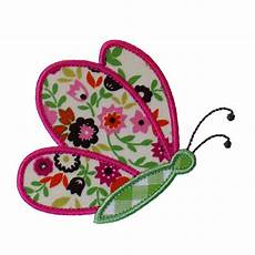 Applique Designer Butterfly Flying By Appliques Machine Embroidery Designs