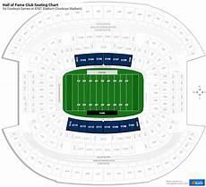 Softball Hall Of Fame Stadium Seating Chart Hall Of Fame Club At Amp T Stadium Football Seating