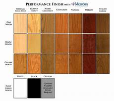 Natural Wood Colors Chart Wainscoting And Wood Paneling Factory Finish Options New